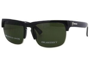 NEW-IN-BOX-ELECTRIC-CALIFORNIA-SUNGLASSES-KNOXVILLE-UNION-BLACK-GRY-POLARIZED-I