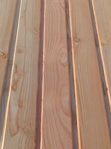 Larchen Profilbretter 21x96 Mm Profilholz Verkleidung Ebay