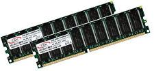 2x 1GB 2GB RAM Speicher für Dell OptiPlex 170L GX270 (SD, SMT) 400 Mhz 184 Pin