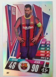 2020/21 Match Attax UEFA - Lionel Messi Extra Large XL ...