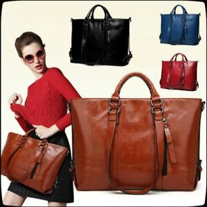 Women-Large-Leather-Handbag-Shoulder-Bags-Tote-Purse-Messenger-Bags-Hobo-Bag