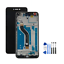 Huawei-Honor-8-Lite-Noir-LCD-Ecran-tactile-sur-chassis-Outils-Protection