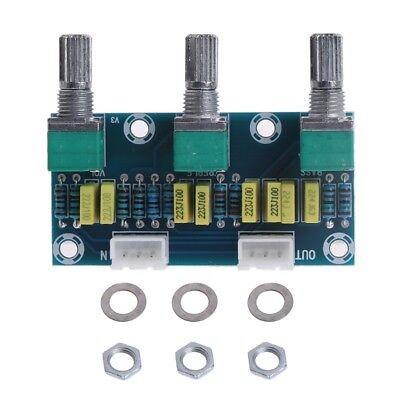 HIFI Amplifier Passive Tone Board Bass Treble Volume Control Preamp Board S