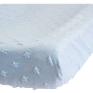 Kidz-Kiss-Nursery-Essentials-Sherpa-Change-Mat-Cover-Change-Pad-Cover-Blue