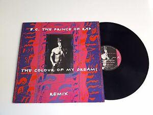 LP-4-gt-Disco-Vinile-12-039-039-B-G-the-prince-of-Rap-The-colour-of-my-dreams