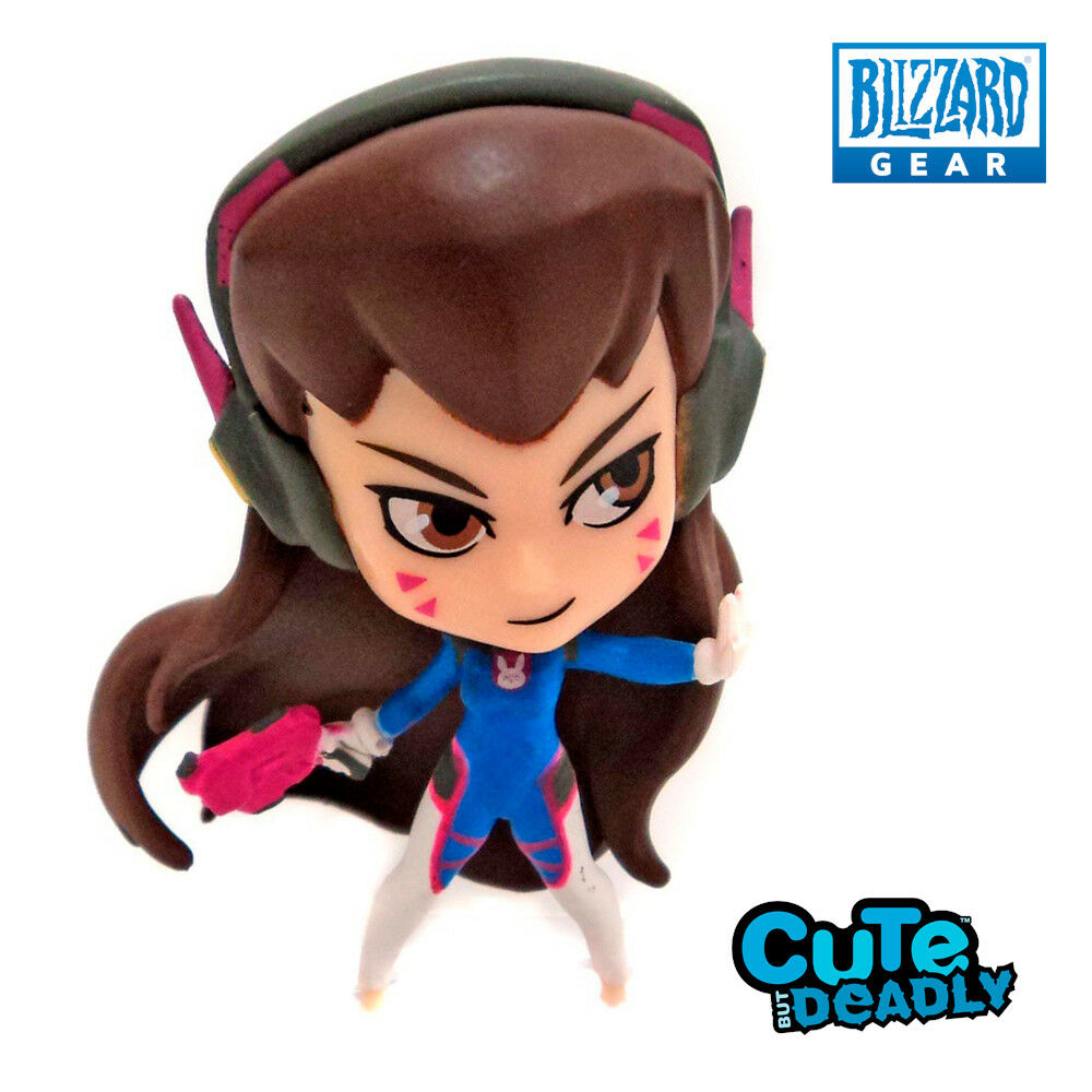 BLIZZARD • Cute But Deadly 3 • D.Va Dva in Vinile Vynil MINI FIGURINE OVERWATCH