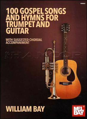 100 Gospel Songs And Hymns For Trumpet And Guitar Sheet Music Book Duets Exquise Vakmanschap;