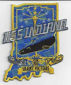 USS Indiana SSN 780 Patch **** NEW DESIGN - LOW PRICE****  C7270