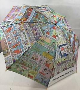 Vintage Peanuts Dilbert Garfield Umbrella Foxtrot New Montgomery Advertiser 32 Ebay