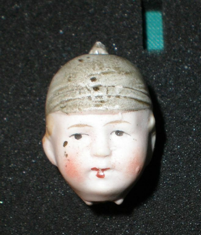 Antique bisque head (soldier) 1.48  WW I