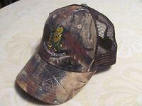 Kati Camo Baseball Hat Back 1/2 Half Mesh Fight Farmers Fight Hunting Cap
