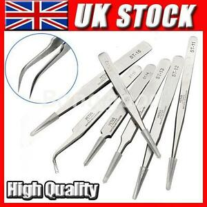 Jewellery-Electronics-Craft-Industrial-Eyelashes-Extension-Tweezers-DIY-Tool-New