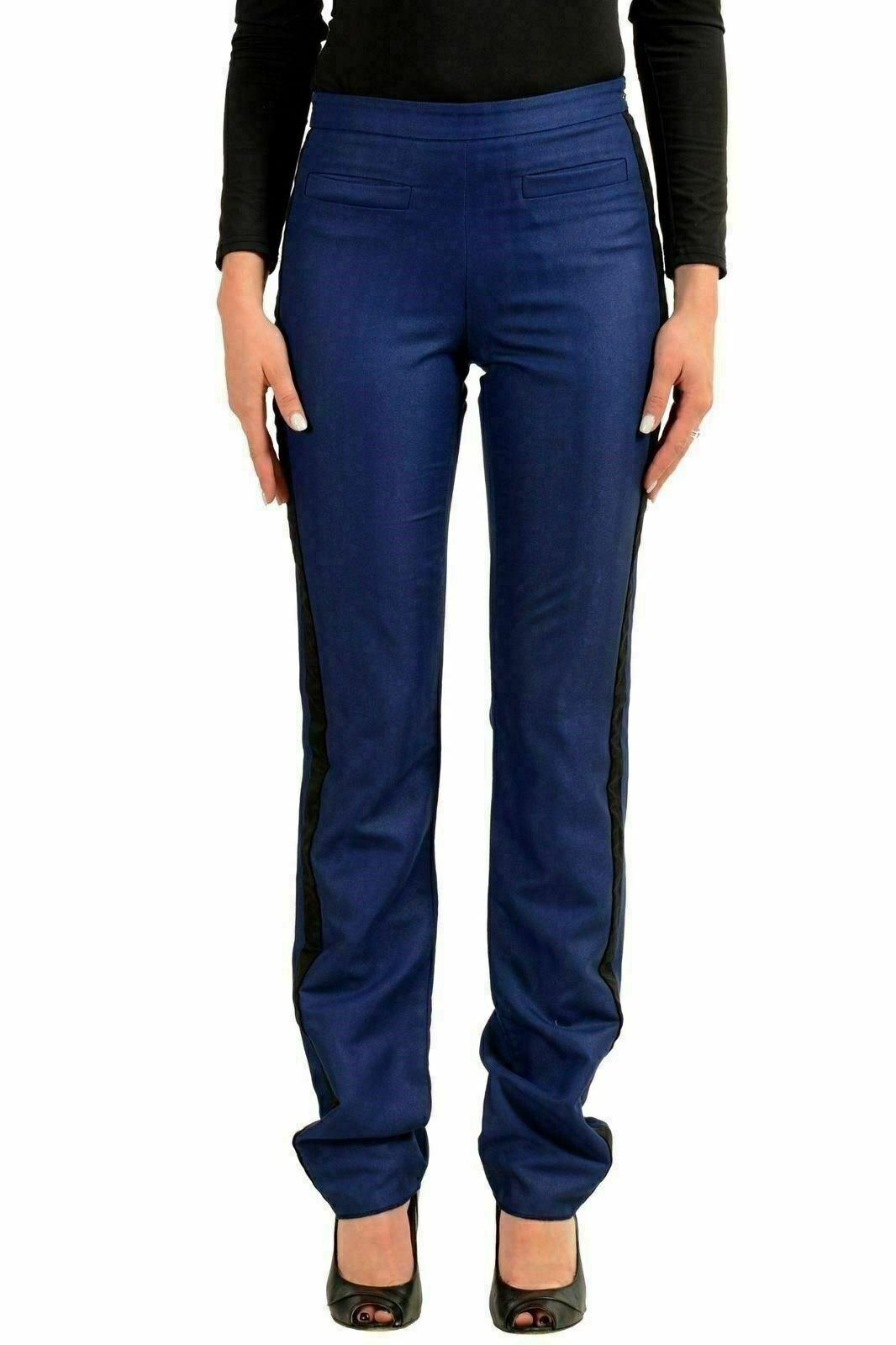 Just Cavalli Damen Blau Freizeithose