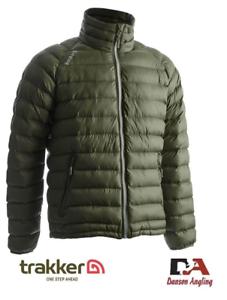 Trakker Base XP Jacket Green Puffa  NEW Quilted  Jacket