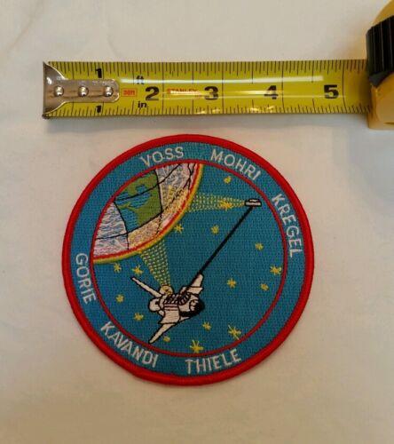 "NASA PATCH A75 NASA STS-99 VOSS Mohri Kregel Gorie Kavandi Thiele PATCH 4/"""