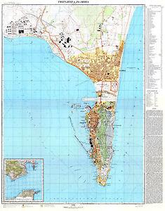 Russian Soviet Military Topographic Maps Gibraltar Uk 1 10 000