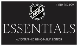 NHL Hobby Box - Essential Memorabilia Edition - 1 item per box - Hockey  -bay