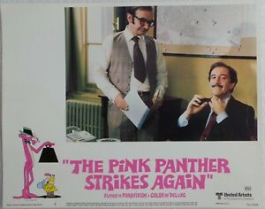 ORIGINAL-1976-LOBBY-CARD-14-034-x-11-034-034-THE-PINK-PANTHER-STRIKES-AGAIN-034-CARD-NO4