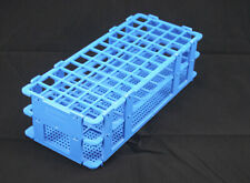Polypropylene 9.7 x 4.1 x 2.5 in. 60 Places Blue Bel-Art F18747-0001 No-Wire Test Tube Rack; 13-16mm
