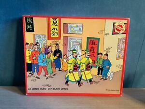 Puzzle-Tintin-Penelope-Le-lotus-bleu-1980