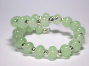 VictoriaGail-Lampworked-Beads-Soft-Jade-Tiny-Lg