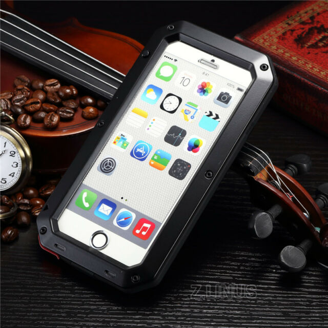 Waterproof Aluminum Gorilla Metal Case Cover For Apple iPhone 6 / iPhone 6 Plus