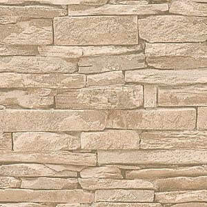 Das Bild Wird Geladen A S Creation 23109737 Tapete Steintapete  Vliestapete Stein Mauer