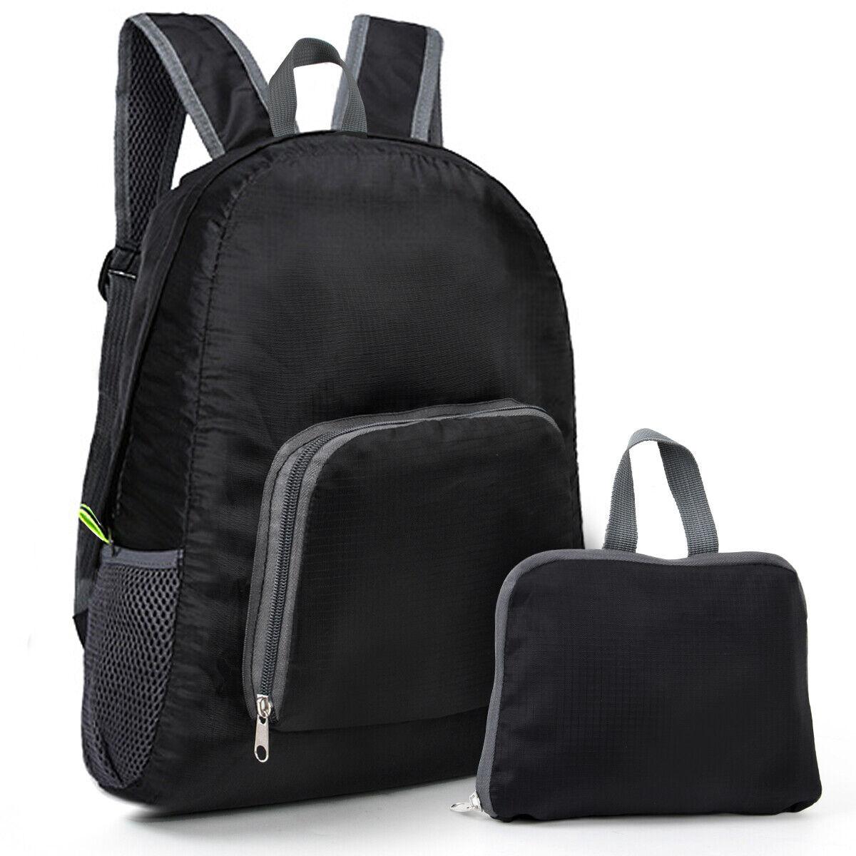 Ultralight Backpack Foldable Waterproof Travel Daypack Packable Shoulder Bags