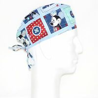 Mickey Mouse On Patch Theme Scrub Hat