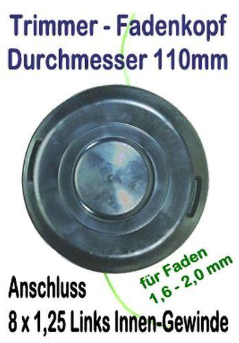 Freischneider Fadenkopf Efco 8091 Oleo-Mac TR91E elektrischer Trimmer Motorsense