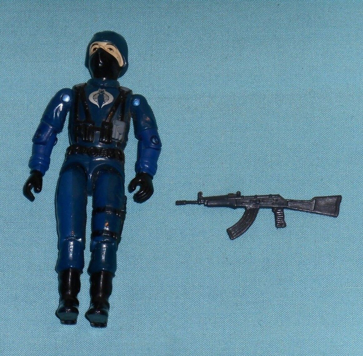 GI G.I. Joe gijoe COBRA OFFICER with original weapon