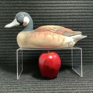 """Andrea Sadek Japan """"Canada Goose"""" Matte Finish Porcelain Decoy Décor Figure 12"""""""