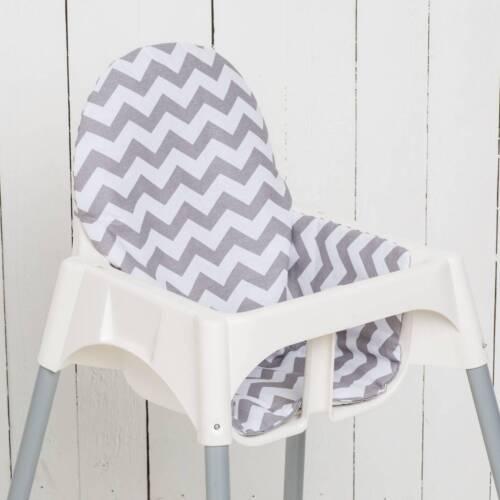Puckdaddy Baby Sitzkissen Chevron// Streifen für Ikea Antilop