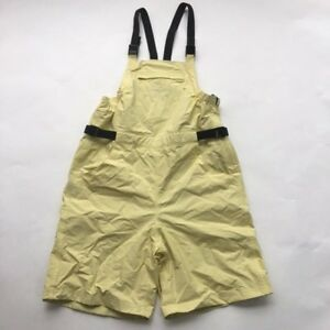 Henri-Lloyd-Foul-Weather-Overalls-Bib-Shorts-Yellow-Size-M-Boating-Fishing