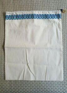 Tory-Burch-12-034-x15-034-Drawstring-DUST-BAG-for-Shoes-Handbags-w-Gold-Logo-Charm-New