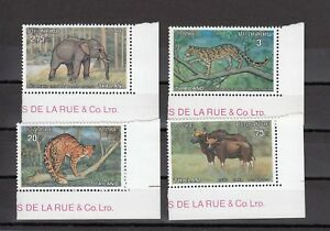TIMBRE-STAMP-4-THAILANDE-Y-amp-T-717-20-ANIMAL-FAUNE-NEUF-MNH-MINT-1975-B26