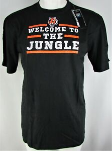 Cincinnati-Bengals-NFL-Majestic-Men-039-s-Big-amp-Tall-034-Welcome-to-the-Jungle-034-Tee