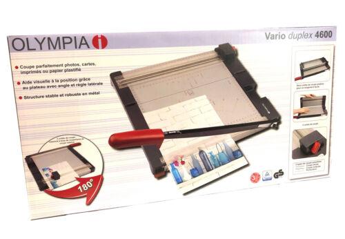 und Rollenschneidegerät Olympia VARIO duplex 4600 Premium Hebel