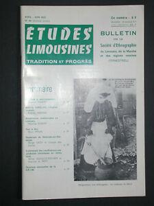 Bulletin SELM 1972 - Souterrain Bessines sur Gartempe - Tour à l'arc - Varillas
