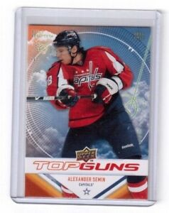 2009-10-Upper-Deck-Series-1-Top-Guns-Alexander-Semin-Washington-Capitals