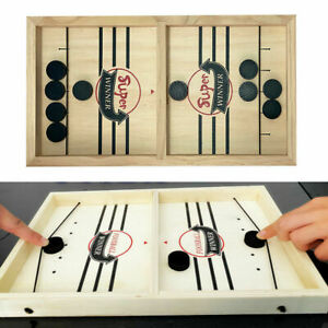 Schnelles-Sling-Puck-Spiel-Paced-SlingPuck-Gewinner-Board-Family-Games-Juego-Toy