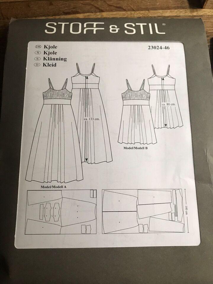 Mønster, Kjole str 46