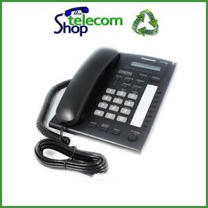 Brillant Panasonic Kx-t7665 Numérique Téléphone En Noir-afficher Le Titre D'origine