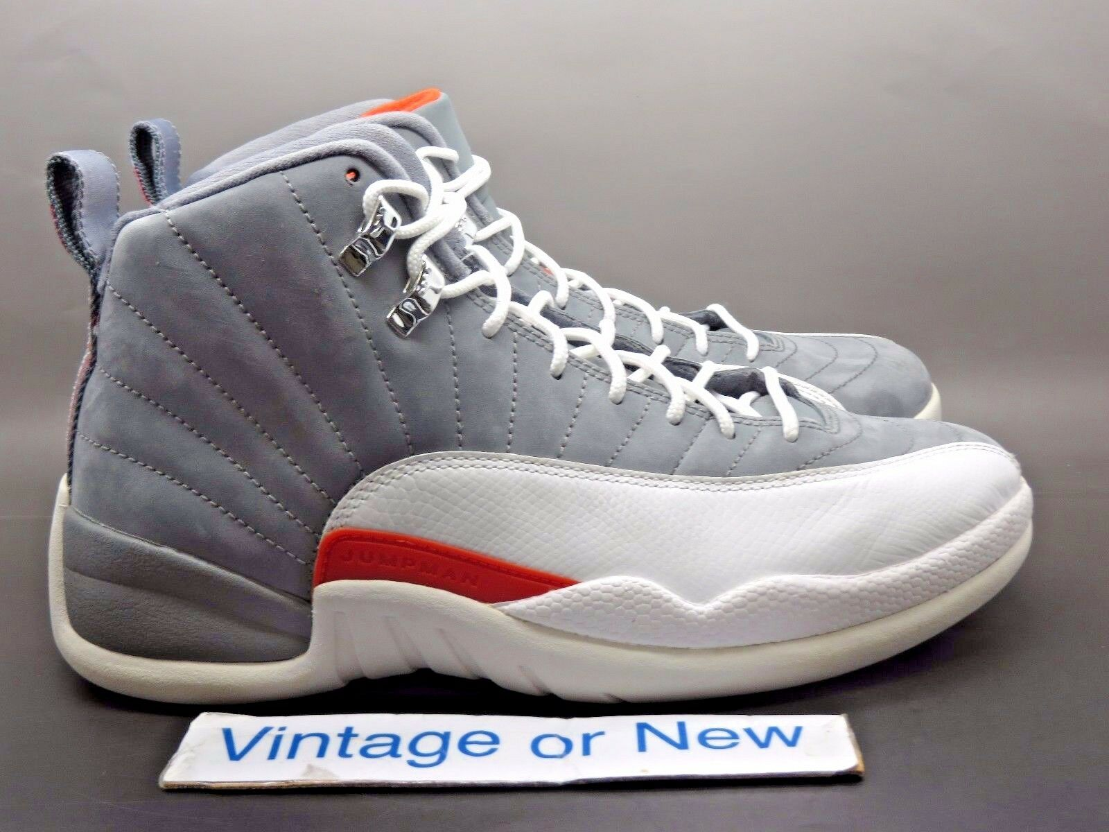 Air Jordan XII 12 Cool Grey Retro 2012 sz 8
