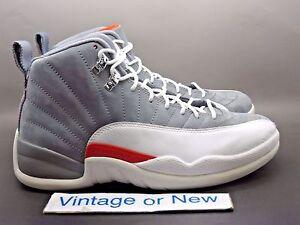 big sale 069a8 4d117 Image is loading Air-Jordan-XII-12-Cool-Grey-Retro-2012-