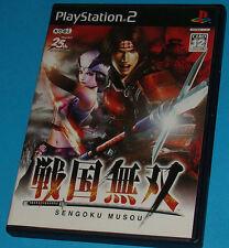 Sengoku Musou - Sony Playstation 2 PS2 Japan - JAP