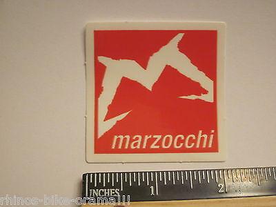 "8/"" MARZOCCHI BOMBER FREE RIDE Mountain Bike MX Race Suspension DECAL STICKER"
