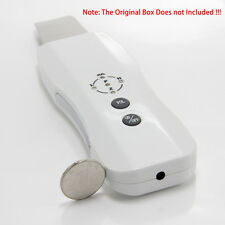Ultrasonic Skin Scrubber facial CLEANER MASSAGER Skin Peeling Pore Acne Massager