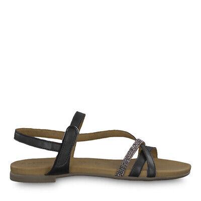 Tamaris 1 1 28120 22 001 Schuhe Damen Leder Touch it Sandalen Sandalette schwarz | eBay