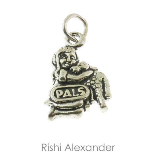 925 Sterling Silver Girl Pals with a Lamb Charm American Made